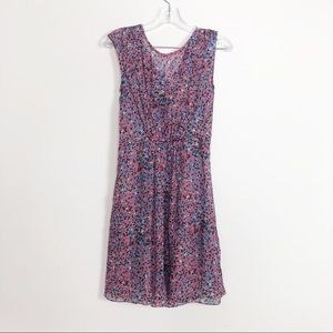 J.Crew Beautiful print dress 100% silk dress 2